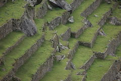 Machu Picchu the hidden Inca City in the clouds Stock Photography