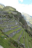 Machu Picchu the hidden Inca City in the clouds Stock Images
