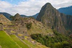 Machu Picchu и Huayna Picchu Стоковая Фотография RF