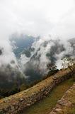 Machu Picchu, Inca antique Rui Photos stock