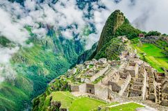 Machu Picchu, Inca Empirer, Peru lizenzfreie stockbilder