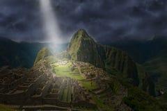Machu Picchu, Inca, Peru Travel Royalty Free Stock Photography