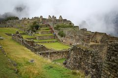 Machu Picchu, The inca ruin of Peru Stock Photography