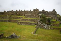 Machu Picchu, The inca ruin of Peru Royalty Free Stock Image