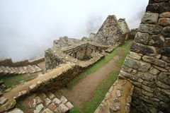 Machu Picchu, The inca ruin of Peru Stock Photos