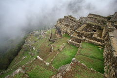 Machu Picchu, The inca ruin of Peru Royalty Free Stock Images