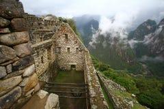 Machu Picchu, The inca ruin of Peru. Machu Picchu, The inca abandoned city in Peru Royalty Free Stock Photos