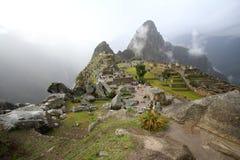 Machu Picchu, The inca ruin of Peru. Machu Picchu, The inca abandoned city in Peru Royalty Free Stock Image