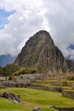 Machu Picchu Inca Ruins in the cloud Stock Photography