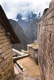 Machu Picchu Inca Ruins in the cloud Stock Images