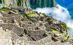 Machu Picchu, Incas ruins in Andes at Cuzco, Peru Royalty Free Stock Photography