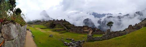 Machu Picchu, Incnca fördärvar i peruanen Anderna arkivbilder