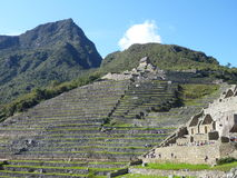 Machu-picchu inka heilige Ruine Lizenzfreies Stockbild