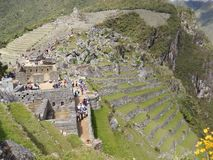 Machu Picchu - Inka`s culture - Peru royalty free stock photography