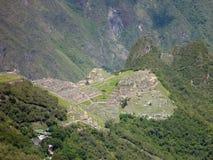 Machu picchu inka sacred ruin Royalty Free Stock Photo