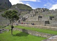 Machu Picchu - la città della montagna del Inca immagine stock