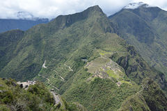 Machu Picchu - la ciudad perdida de los incas, Perú Imagenes de archivo