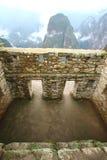 Machu Picchu, la rovina del inca del Perù fotografie stock libere da diritti