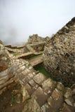 Machu Picchu, la rovina del inca del Perù fotografia stock