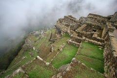 Machu Picchu, la rovina del inca del Perù immagini stock libere da diritti