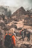 Machu Picchu la ville perdue des Inca Imagen images libres de droits