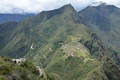 Machu Picchu - la ville perdue des Inca, Pérou Images stock