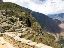 Machu Picchu Landmark Stock Photography
