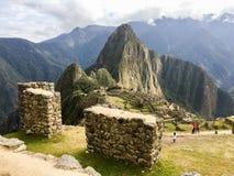 Machu Picchu Landmark Royalty Free Stock Photo