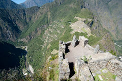 Machu Picchu - le Pérou Photos stock