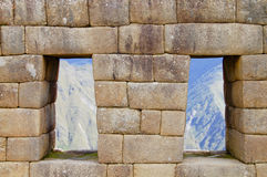 Machu Picchu - le Pérou Image stock
