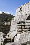 Machu Picchu leer bewölkt nebelig Nachdem dem Wandern auf dem ehrfürchtigen stockbilder