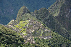 Machu Picchu - the lost city of the Incas, Peru. Stock Images
