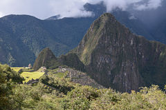 Machu Picchu - the lost city of the Incas, Peru. Stock Image