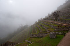 Machu Picchu. Lost city of Inkas in Peru mountains. Royalty Free Stock Photo