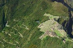 Machu Picchu lost city Royalty Free Stock Photo