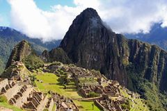 Machu Picchu, the Lost Inca City Stock Photo