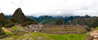 Machu Picchu main square Stock Photos