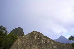 Machu Picchu, Mecka av varje handelsresande royaltyfri bild