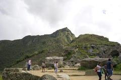 Machu Picchu, Mekka van elke reiziger stock foto's