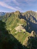 Machu Picchu miasteczko od kamienia Zdjęcie Royalty Free