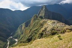 Machu Picchu mountains Royalty Free Stock Image