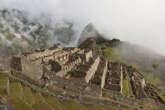 Machu Picchu Nebel Lizenzfreies Stockfoto