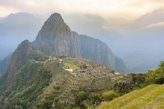 Machu Picchu no Peru imagem de stock