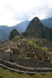 Machu picchu old ruins Royalty Free Stock Image