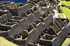 Machu Picchu old town - Inca - Peru America stock image
