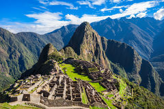 Machu Picchu. Is one of the New Seven Wonders of the World Royalty Free Stock Photos