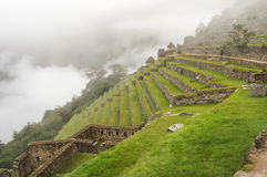 Machu Picchu, One of the New Seven Wonders of the World in Peru Stock Image