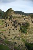 Machu Picchu, opinión común. imagenes de archivo