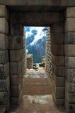 Machu Picchu, Oude Inca Doo royalty-vrije stock afbeeldingen