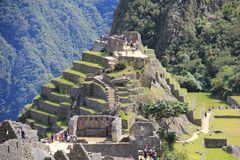 Machu Picchu overview Stock Photography